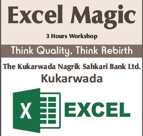 Organized Workshop for Excel Magic at Kukarwada Nagarik Bank
